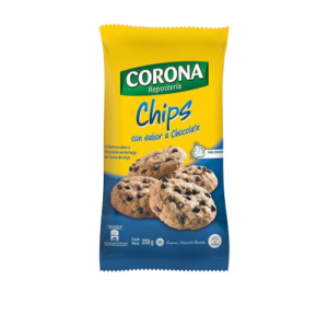 Chips chocolate Corona 250gr