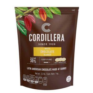 Chocolate cordillera BLANCO 30% 1KG
