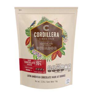 Chocolate cordillera  70% 1KG ECUADOR
